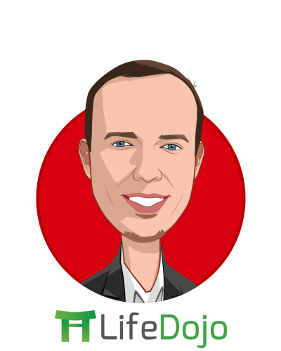 Main caricature of Chris Cutter, who is speaking at HLTH and is Founder & CEO at LifeDojo Inc.