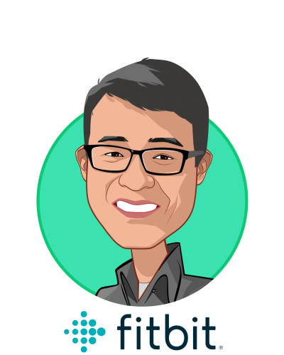 Main caricature of James Park, who is speaking at HLTH and is Co-founder and CEO at Fitbit