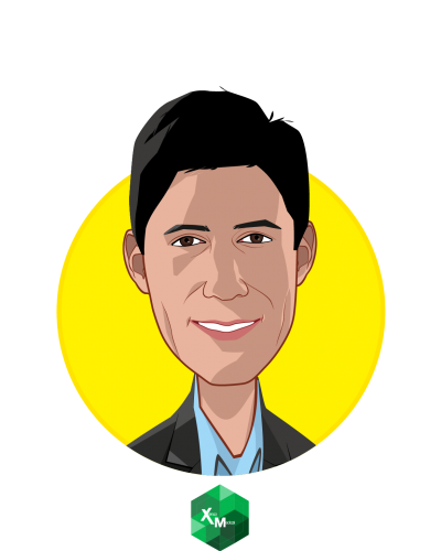 Main caricature of Jason Haider, who is speaking at HLTH and is Founder and CEO at Xenco Medical