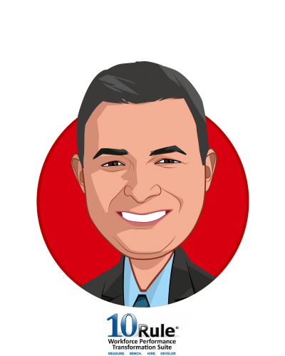 Main caricature of Gary Morais, who is speaking at HLTH and is Managing Partner at Bottom Line Results LLC.