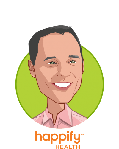 Main caricature of Ofer Leidner, who is speaking at HLTH and is Co-founder, President at Happify Health Inc.
