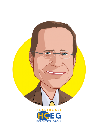 Main caricature of Ferris W. Taylor, who is speaking at HLTH and is Executive Director at HealthCare Executive Group (HCEG)