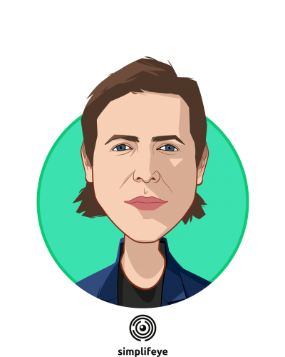 Main caricature of Zach Hungate, who is speaking at HLTH and is CEO & Co-Founder at simplifeye